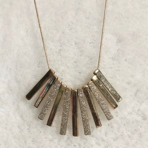 Glitter and Gold Necklace